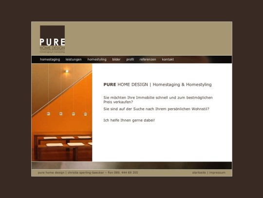 PURE HOME DESIGN - Christia Sperling-Baecker