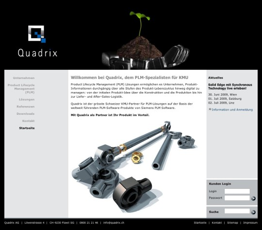 Quadrix AG (Relaunch 2009)